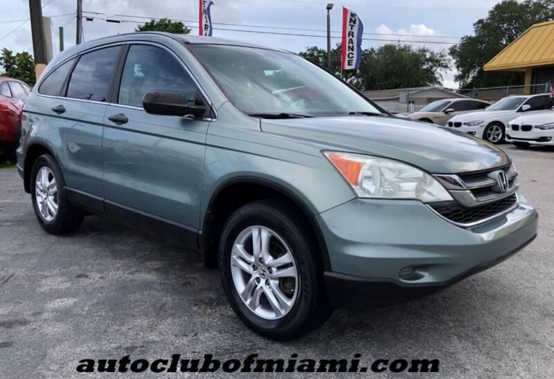 2010 Honda CR-V for sale at AUTO CLUB OF MIAMI in Miami FL