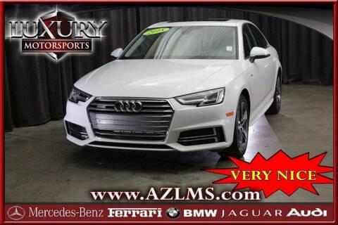 2018 Audi A4 for sale at Luxury Motorsports in Phoenix AZ