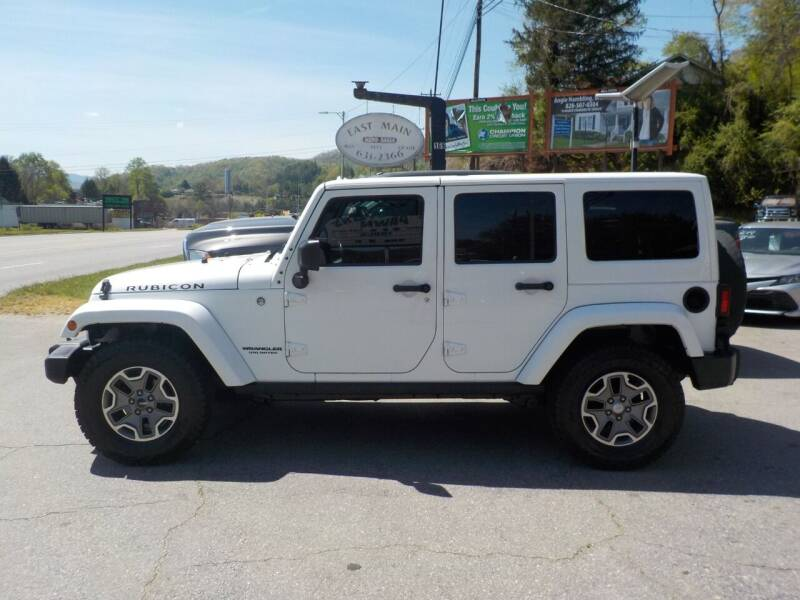 2014 Jeep Wrangler Unlimited for sale at EAST MAIN AUTO SALES in Sylva NC