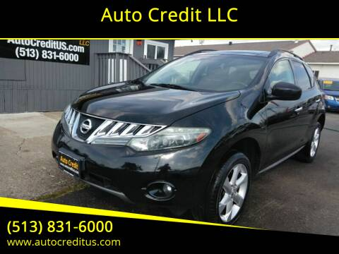 2010 Nissan Murano for sale at Auto Credit LLC in Milford OH