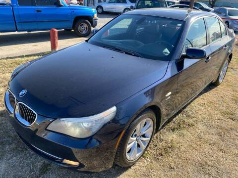2010 BMW 5 Series for sale at Texas Select Autos LLC in Mckinney TX