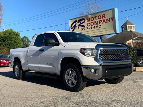 2018 Toyota Tundra for sale at GR Motor Company in Garner NC