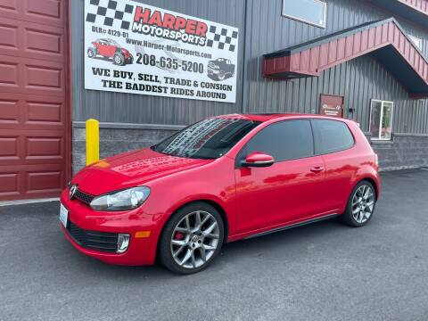 2013 Volkswagen GTI for sale at Harper Motorsports-Vehicles in Post Falls ID