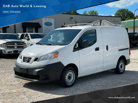 2015 Nissan NV200 for sale at DAB Auto World & Leasing in Wake Forest NC