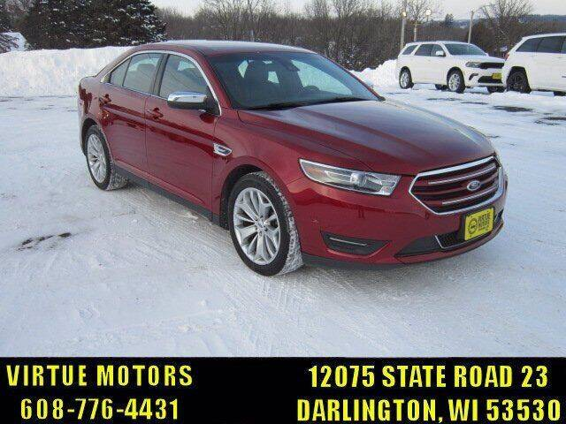 2016 Ford Taurus for sale at Virtue Motors in Darlington WI