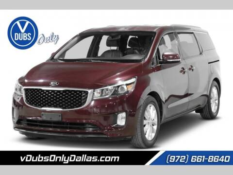 2015 Kia Sedona for sale at VDUBS ONLY in Dallas TX