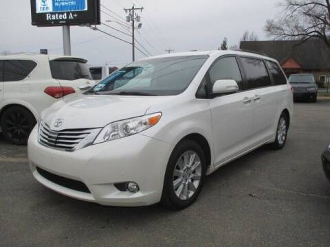 2014 Toyota Sienna for sale at Mill Street Motors in Worcester MA