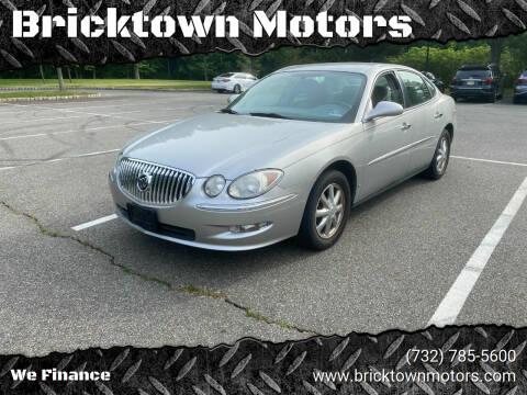 2008 Buick LaCrosse for sale at Bricktown Motors in Brick NJ