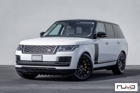 2019 Land Rover Range Rover for sale at Nuvo Trade in Newport Beach CA