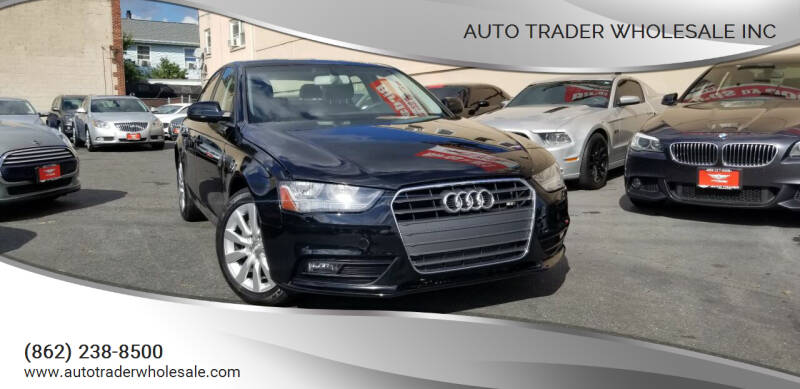 2014 Audi A4 for sale at Auto Trader Wholesale Inc in Saddle Brook NJ