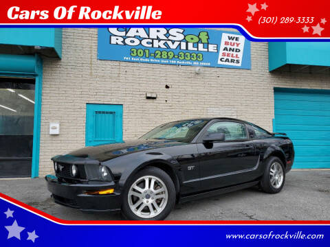 2005 Ford Mustang for sale at Cars Of Rockville in Rockville MD