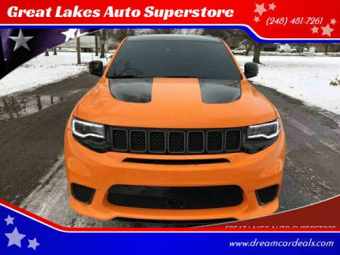 2018 Jeep Grand Cherokee for sale at Great Lakes Auto Superstore in Waterford Township MI