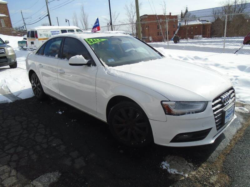 2013 Audi A4 for sale at Broadway Auto Services in New Britain CT