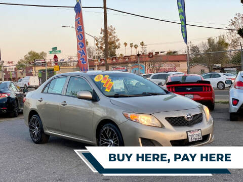 2009 Toyota Corolla for sale at Stark Auto Sales in Modesto CA