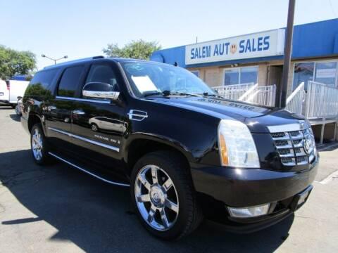 2008 Cadillac Escalade ESV for sale at Salem Auto Sales in Sacramento CA