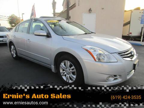 2012 Nissan Altima for sale at Ernie's Auto Sales in Chula Vista CA