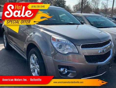 2012 Chevrolet Equinox for sale at American Motors Inc. - Belleville in Belleville IL