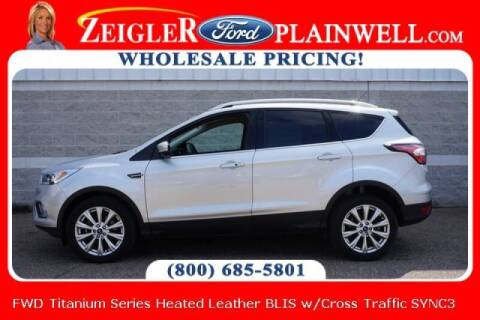2017 Ford Escape for sale at Zeigler Ford of Plainwell- michael davis in Plainwell MI