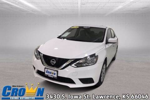 2016 Nissan Sentra for sale at Crown Automotive of Lawrence Kansas in Lawrence KS