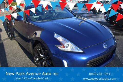 2016 Nissan 370Z for sale at New Park Avenue Auto Inc in Hartford CT