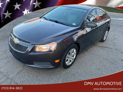 2014 Chevrolet Cruze for sale at DMV Automotive in Falls Church VA