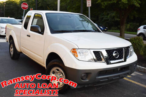2016 Nissan Frontier for sale at Ramsey Corp. in West Milford NJ