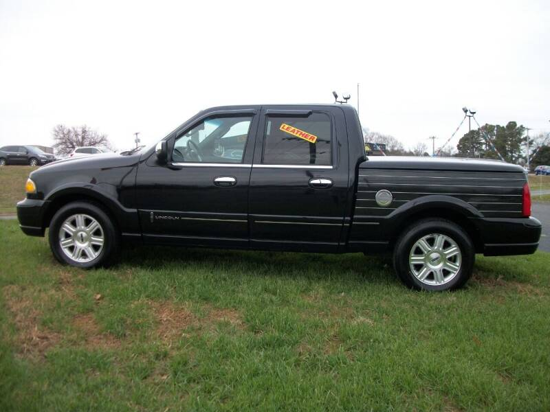 2002 Lincoln Blackwood for sale at Lentz's Auto Sales in Albemarle NC