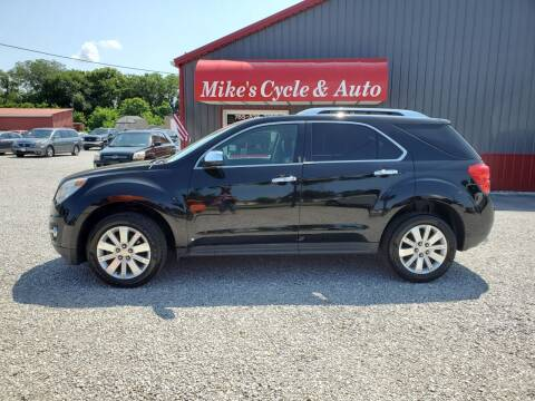 2010 Chevrolet Equinox for sale at MIKE'S CYCLE & AUTO in Connersville IN
