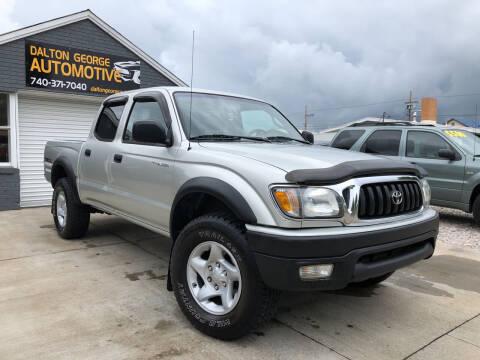2002 Toyota Tacoma for sale at Dalton George Automotive in Marietta OH
