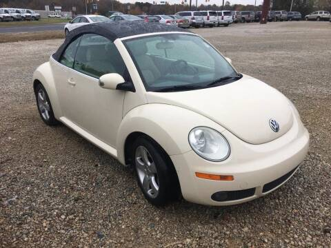 2007 Volkswagen Beetle Convertible for sale at Speed Auto Mall in Greensboro NC