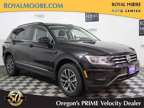 2020 Volkswagen Tiguan for sale at Royal Moore Custom Finance in Hillsboro OR