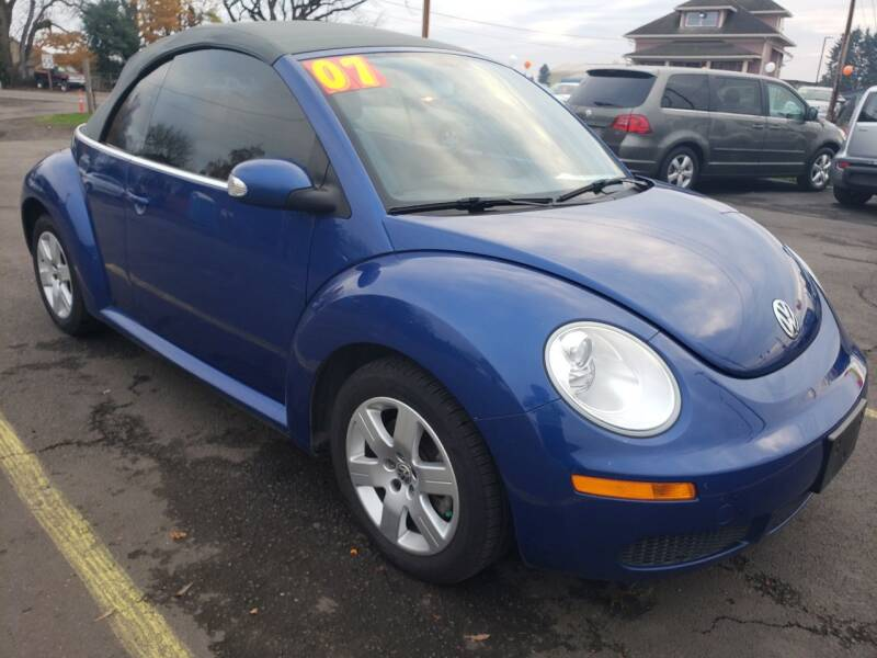 2007 Volkswagen New Beetle for sale at Low Price Auto and Truck Sales, LLC in Salem OR