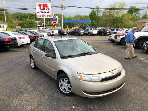 2003 Saturn Ion for sale at KB Auto Mall LLC in Akron OH