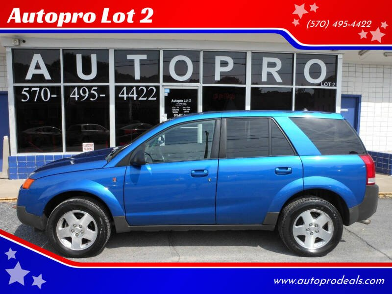 2004 Saturn Vue for sale at Autopro Lot 2 in Sunbury PA