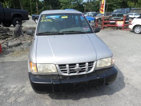 2001 Kia Sportage for sale at FERNWOOD AUTO SALES in Nicholson PA