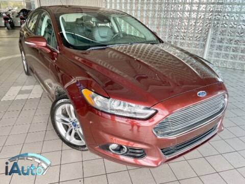 2015 Ford Fusion Hybrid for sale at iAuto in Cincinnati OH
