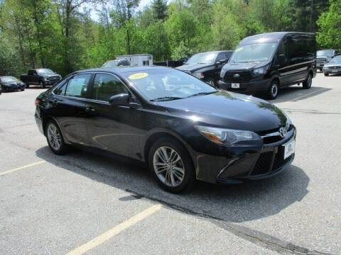 2017 Toyota Camry for sale at MC FARLAND FORD in Exeter NH