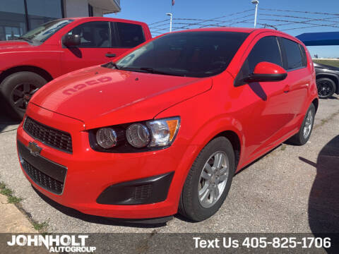 2016 Chevrolet Sonic for sale at JOHN HOLT AUTO GROUP, INC. in Chickasha OK