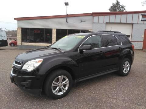 2011 Chevrolet Equinox for sale at Pepp Motors in Marquette MI