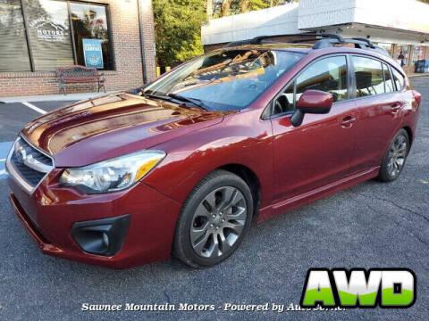 2014 Subaru Impreza for sale at Michael D Stout in Cumming GA
