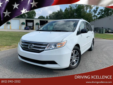 2012 Honda Odyssey for sale at Driving Xcellence in Jeffersonville IN