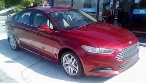 2013 Ford Fusion for sale at Georgia Certified Motors in Stockbridge GA