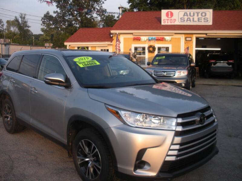 2019 Toyota Highlander for sale at One Stop Auto Sales in North Attleboro MA