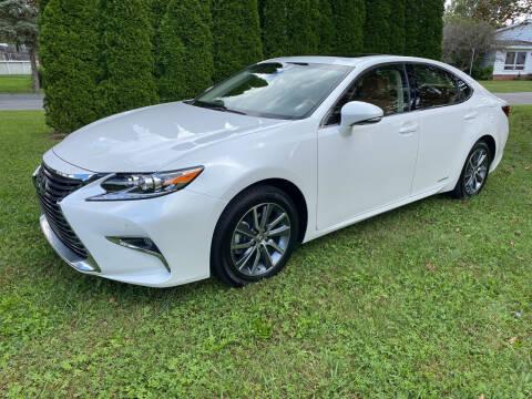 2018 Lexus ES 300h for sale at Steve Rotella Sales Ltd in Syracuse NY