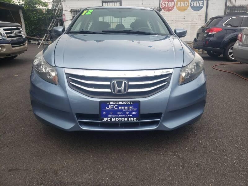 2012 Honda Accord for sale at JFC Motors Inc. in Newark NJ