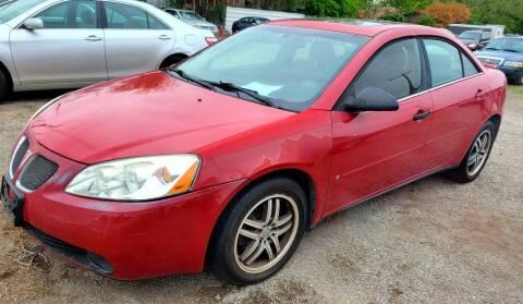 2007 Pontiac G6 for sale at Jackson Motors Used Cars in San Antonio TX