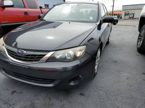 2008 Subaru Impreza for sale at All American Autos in Kingsport TN