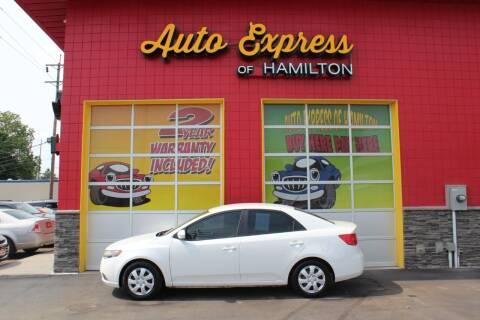 2013 Kia Forte for sale at AUTO EXPRESS OF HAMILTON LLC in Hamilton OH
