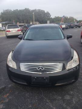 2008 Infiniti G35 for sale at BSS AUTO SALES INC in Eustis FL