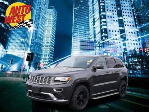 2015 Jeep Grand Cherokee for sale at Autowest of GR in Grand Rapids MI